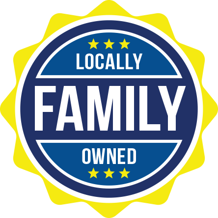 Seal to signify that A-Action is a local and family-owned pest control company